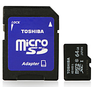 Toshiba 64GB Class 10 Micro SDXC SDHC Memory Card UHS-I with SD Adapter 40MB/S