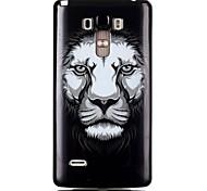 tpu del león del teléfono celular del material para lg g4