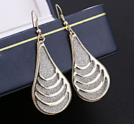 Top Quality European Style Water-drop Shape Drop Earrings for Wedding Party