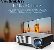 ViviBright® PRW310 LED Projector,HDTV For Home Theater,1280x800Pixels,2800 Lumens With TV Tuner