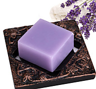 ALL BLUE High Quality Skin Whitening Soap Lavender Essential Oil Soap Manually Pale Spot Scratches Tender Skin Body Soap