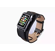 Genuine Leather Watchband Classic Buckle for iWatch Watchband 42mm Assorted Colors