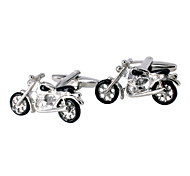 Jewelry Brass Material, Motorcycle Modelling Men Cufflinks