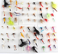 "120 pcs Moscas fantasma / Colores Surtidos 1g g/1/18 Onza,15 mm/<1"" pulgada,Metal Pesca a la mosca"