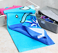 100% Cotton Dolphin Print Beach Towel