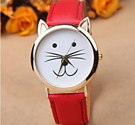 Casual cute cat watches