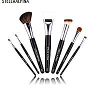 Stellaalpina 7 Contour Brush / Makeup Brushes Set / Eyeshadow Brush / Lip Brush / Brow Brush / Eyeliner Brush MAC Makeup Style