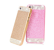 Girls'Favorite Bling Glitter Rhinestone Hard Back Case for iPhone 4/4S(Assored Colors)