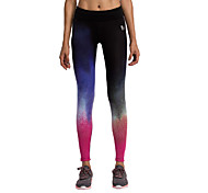 Running Tights / Leggings / Bottoms Women's Breathable Spandex Yoga / Racing / Running Vansydical® Stretchy Activewear / Athleisure Blue