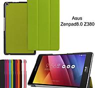 protectora casos Tablet funda de cuero casos soporte para Z380 zenpad asus