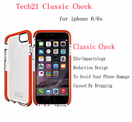 Tech 21 Case D3O TPU Case Anti-shock Back Shell Classic Check Case Impact Mesh Plaid Case iPhone 6/6S 4.7""