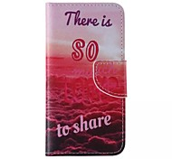 LOVE Pattern Cell Phone Leather For iPhone 6/6S