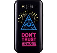 Triangle eye Pattern TPU Phone Case for Galaxy Grand Neo/Galaxy Grand Prime/Galaxy Core Prime