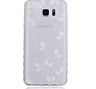 Voor Samsung Galaxy Note Patroon hoesje Achterkantje hoesje Bloem TPU Samsung Note 5 / Note 4 / Note 3