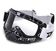 motocross motocicleta de esqui snowboard óculos de proteção goggle com guarda nariz