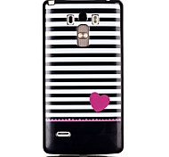 Stripe TPU Material Cell Phone Case for LG G4