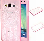 For Samsung Galaxy Case Translucent / Pattern Case Back Cover Case Dream Catcher PC Samsung A5