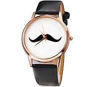 Women'S Watches Fashion Moustache Quartz Wrist Watch