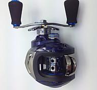 6.3:1 14 Ball Bearings Baitcast Reels Bait Casting / Freshwater Fishing / Lure Fishing Right-handed KW150 R - MING JU WU