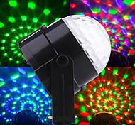 3*1W RGB Auto Sound Indoor Magic LED Crystal Ball Light