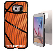 Personalized Case - Basketball Design Metal Case for Samsung Galaxy S6/ S6 edge/ note 5/ A8 and others