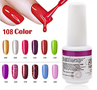 1PCS 9ml UV Color Gel Phototherapy Glue Nail Polish 49#-60#