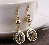 Globe Crystal Earrings Eardrop Decoration Fashion And Personality