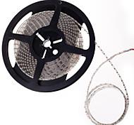 diode LED bande lumineuse émettant de la lumière 600x3528smd imperméable lumière blanche DC12V 5m