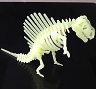 Giochi giocattoli modello 3d dinosauro notturna luminosi&puzzle