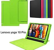 protettivo casi tablet cuoio della staffa casi custodia per tablet Lenovo Yoga 3 pro 10.1