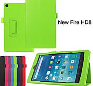protettivo casi tablet cuoio della staffa casi fondina per hd8 accende il fuoco