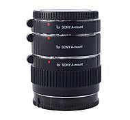 kooka kk-s68 Messing af 3 Verlängerungsrohre mit TTL-Belichtungsautomatik für Sony (12mm 20mm 36mm) SLR-Kameras