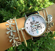 European Fashion Women's Watches Digital Letter Analog Quartz Watches Student Wrist Watch(Assorted Colors) Cool Watches Unique Watches