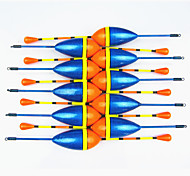 Anmuka Hot Sale! 10Pcs Vertical Buoy Fish Floats Bobbers Fishing Float Set Fishing Tackle Tools Fishing Lure Float