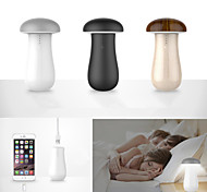 DE JI Little Mushroom Lamp + Power Banks 8000mah Portable Battery External For iPhone 6S/6S Plus/5/5S/Samsung S6/Note 5