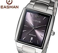 EASMAN Watch Men Brand New Analog Quartz Watches Sapphire Date Stainless Men Fashion Wristwatches Watch