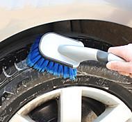 LEBOSH Car Cleaning Brush Wash Brush Soft Handle Tire Brush