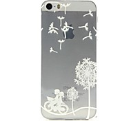 Bike Lovers Pattern TPU Soft Phone Case for iPhone 5/5S