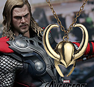 European Style Avengers Thor Mask Short Necklace