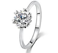 Mode-Kristall-Ring Hochzeitsbevorzugungs promis Ringe für Paare