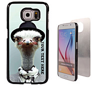 Personalized Case - Ostrich Design Metal Case for Samsung Galaxy S6/ S6 edge/ note 5/ A8 and others