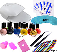 1 Set Nail Art Printing Kit