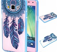 For Samsung Galaxy Case Transparent / Pattern Case Back Cover Case Dream Catcher PC Samsung A5