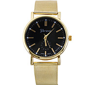 reloj superiores venta caliente de cuarzo de oro clásico de acero inoxidable para los hombres y mujeres