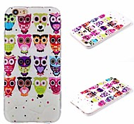 Plus iphone6 owl pattern 3D mobile phone shell