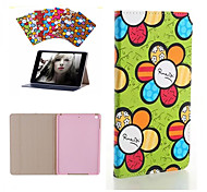 Brand Designer Korea Cute Sunflower Flip Ultra Slim Stand Leather Book Case Smart Cover For iPad Mini 4