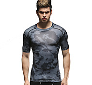 Vansydical Men's Quick Dry Fitness Tops - JSY-2015003