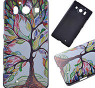 Color Tree Pattern PC Hard Cover Case for NOKIA 950