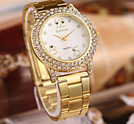 Women's Fashion Watch Quartz Alloy Band Gold Rose Gold