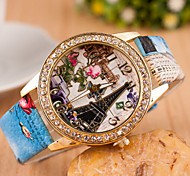 Woman Eiffel Tower Quartz Wrist Watch Cool Watches Unique Watches
